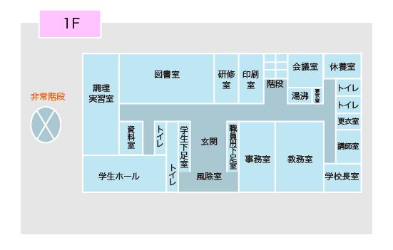 1階フロアガイド図
