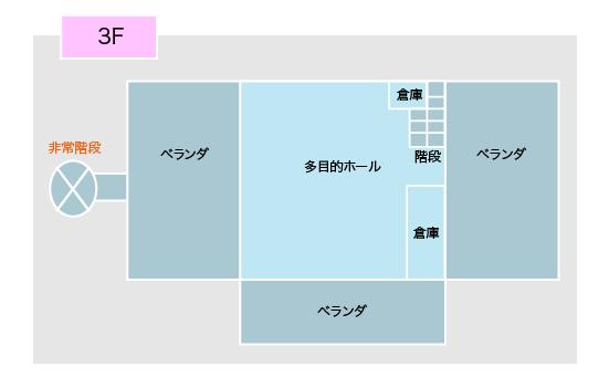 3階フロアガイド図