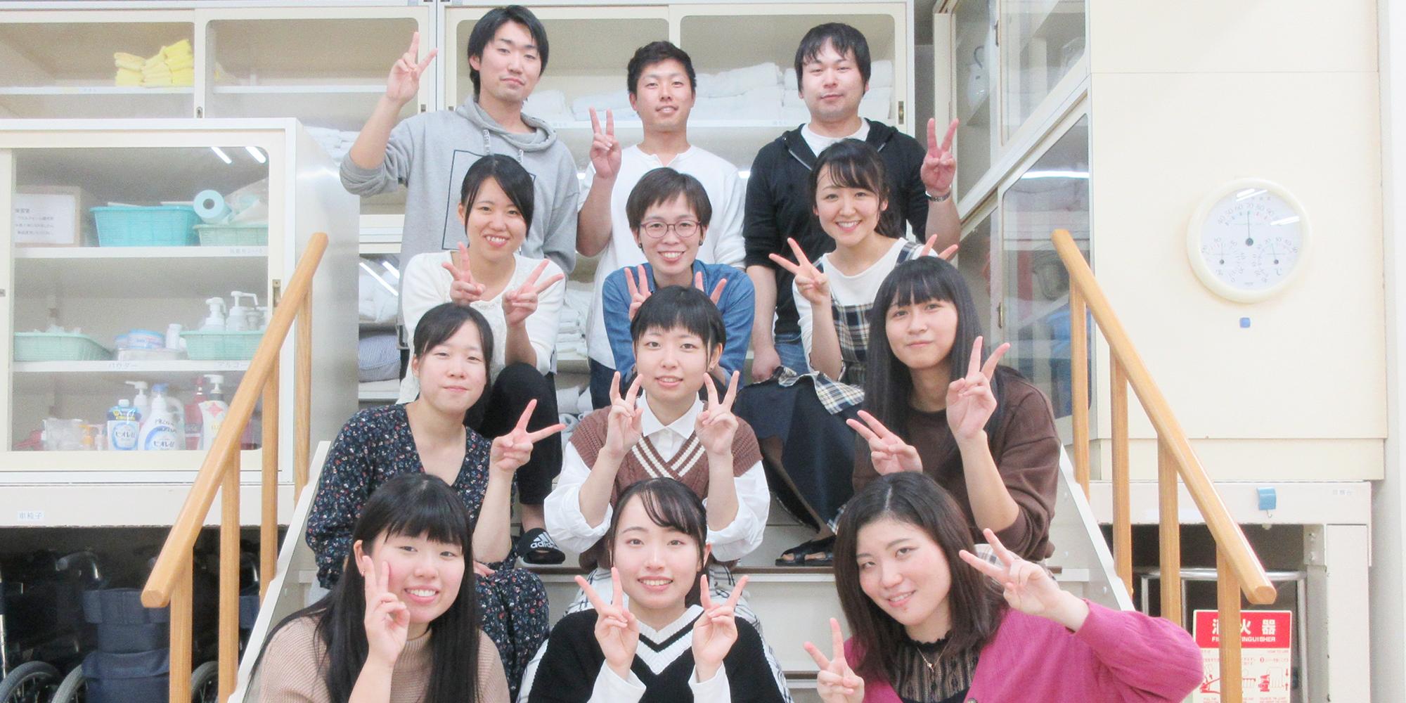 三友堂看護学校の学生