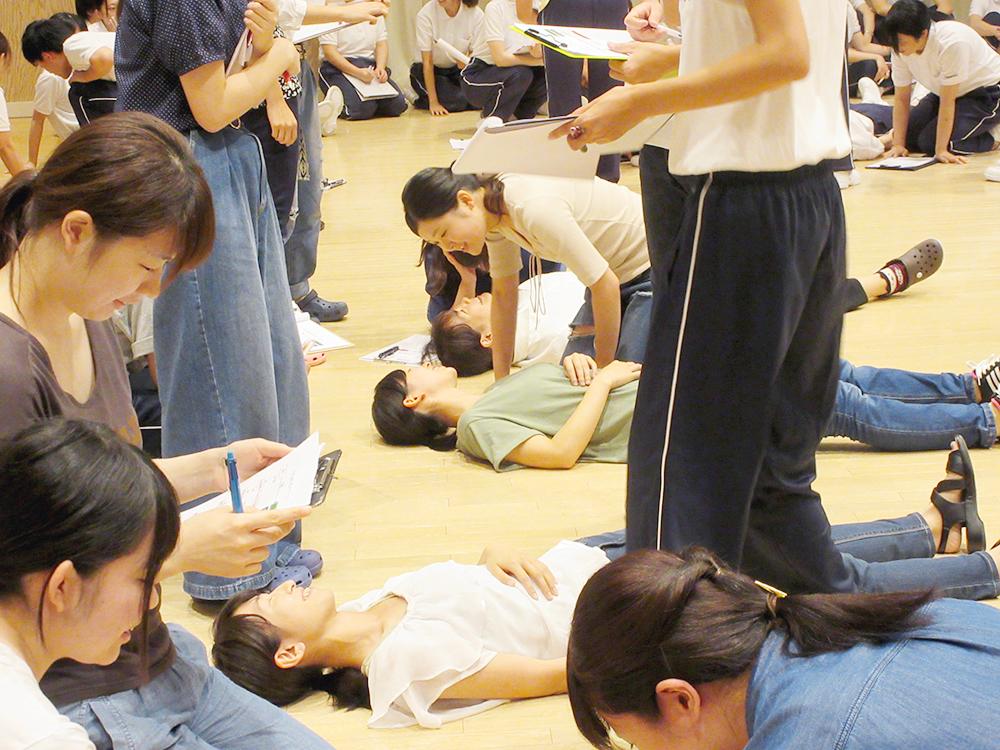 統合分野 授業の様子